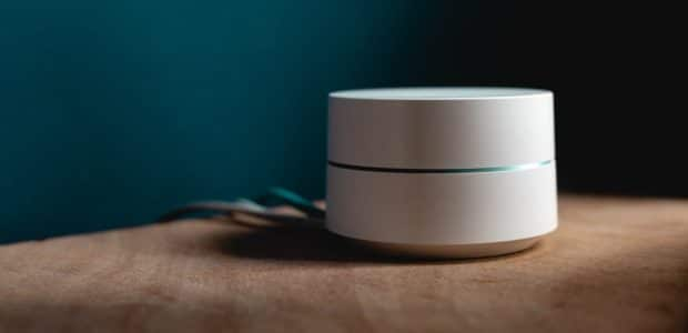 white speaker on surface 1054554