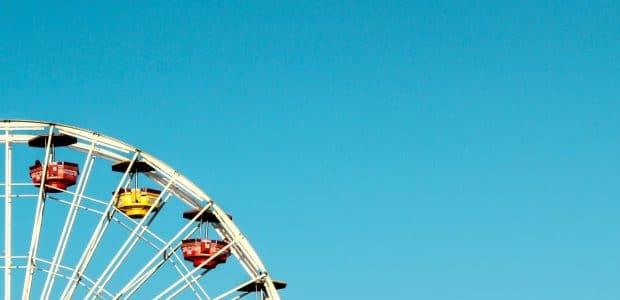 white ferris wheel 913138