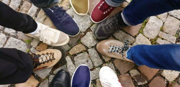 brand trademark cobblestones community denim pants 609771